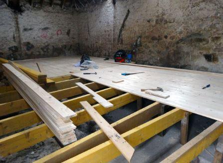 basement floor repair