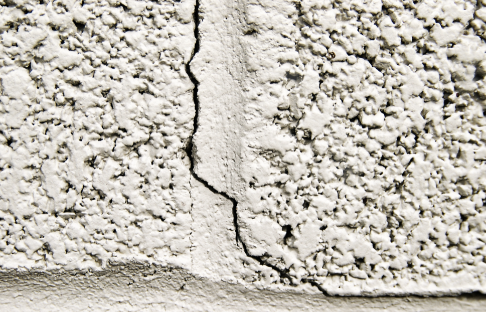 cracking foundation